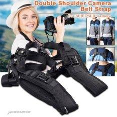 XCSource Quick Rapid Double Dual Shoulder Strap Sling Belt For Two DSLR SLR Cameras