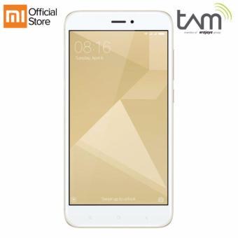 Xiaomi Redmi 4X - 3GB/32GB - Gold - Garansi Resmi TAM