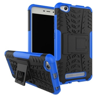 Xiaomi Redmi 4X Heavy Duty Hybrid Rugged Armor Hard Back Cover Casewith Kickstand for Xiaomi Redmi 4X / Hongmi 4X - intl