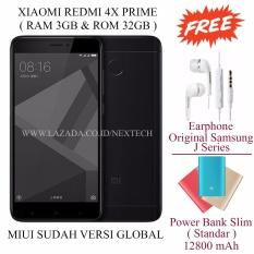 Xiaomi Redmi 4x Prime - Ram 3GB - Rom 32GB - Free 2 item - Black