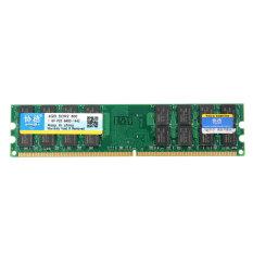 Xiede 4 GB DDR2 800 mhz PC2-6400 240 tandai Memori PC desktop untuk memukul-mukul AMD induk (hijau)- intl