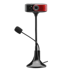 YBC High Definition UVC Microphone Night Vision Webcam Black