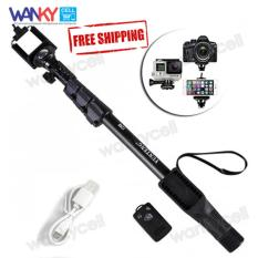 Yunteng Monopod Tongsis YT-1288 Bluetooth With Remote Shutter - Hitam