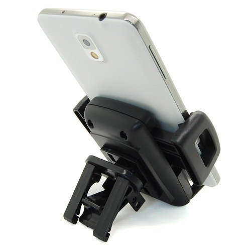 2015 360 Car Air Vent Mount Cradle Holder Stand For Mobile Smart Cell Phone GPS for PSP, mp4, PDA, GPS Fast shipping and wholesale (Black) (Intl)