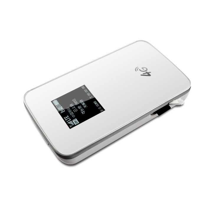 2015 New Arrival 150Mbps Unlocked Lte 4G Wifi Router with sim card slot white (Intl)