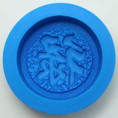 2015 Rose Craft Art Silicone Soap Mold Craft Molds DIY Handmade Soap Molds BKSILICONE (Intl)