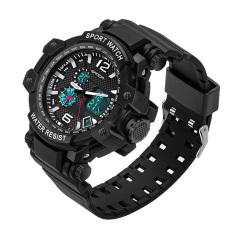 2016 High Quality SANDA 729 Multi-purpose Outdoor Sports Watch (Black)