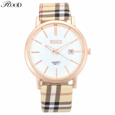 2016 New ROOD Brand Women Dress Watches 3ATM Waterproof Leather Strap Fashion Quartz Watch Student Wristwatches Ladies Hours
