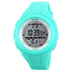 2016 New Skmei Brand Men LED Digital Military Watch, 50M Dive Swim Dress Sports Watches Fashion Outdoor Wristwatches (Blue)