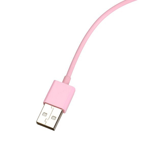 3 Meters Long Pink USB 2.0 Data Sync Charging Cable for iPhone 4 4S iPod