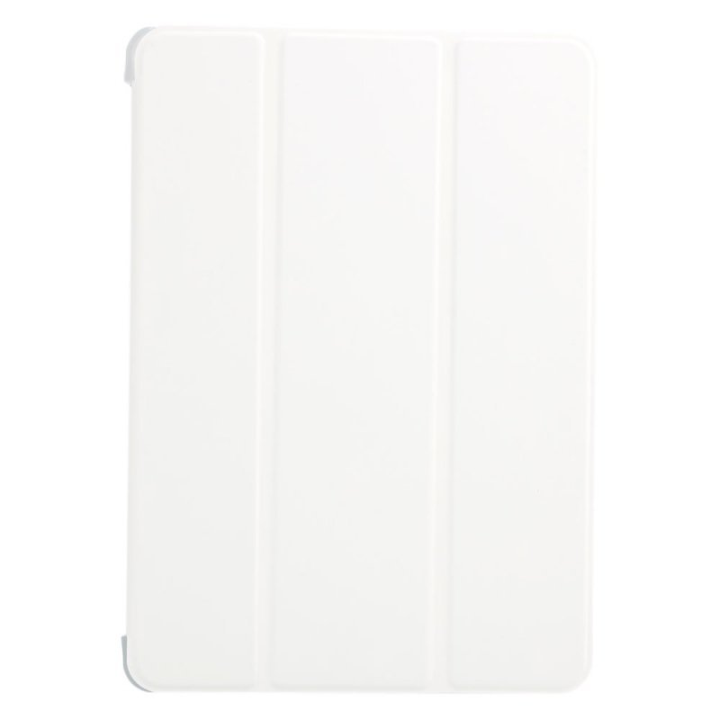 3-Section Foldable Transparent PC Protective Case for iPad Air (White) (Intl)
