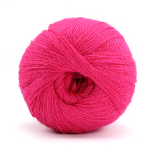 100% yang lembut dan rajutan benang wol kasmir rajutan berwarna-warna-warni 50 G merah