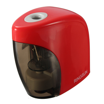 10Pcs Automatic Electric Touch Switch Pencil Sharpener For Home Office School Desktop - Intl