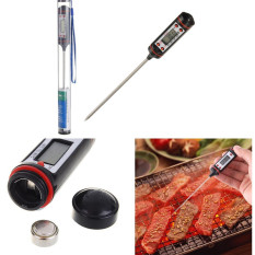 10pcs Instant Portable Digital Food Probe Cooking BBQ Meat Kitchen Oven Chocolate Thermometer Tool - Intl