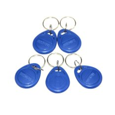 10pcs / Lot 125Khz RFID Proximity FRID For The RFID Reader Door Access Keypad Use Bule Keyfobs