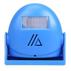 16 Songs Blue Wireless Induction Welcome Motion Sensor Doorbell Door Bell (Intl)