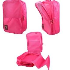 1PC Fashion Convenient Shoes Storage Box Waterproof Shoe Bag Valise RD - intl