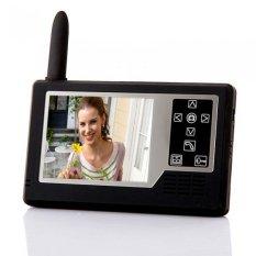 """2.4.3.5"""" TFT Wireless Video Door Phone Intercom Doorbell 2 Monitors (Intl)"""