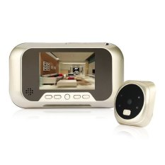 2.8inch TFT LCD Digital Door Peephole Viewer with Night Vision Brown