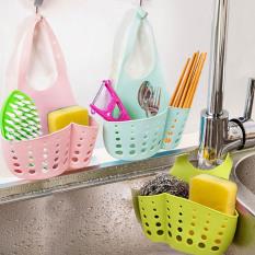 2Pcs Kitchen Sink Shelf Rack Faucet Basket Storage Rack Kitchen Storage Sponge Holder Bathroom Accessories Organizadores