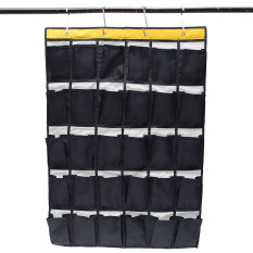 30 Pockets Door Home Wall Closet Hanging Organizer Storage Bag Phones Holder - Intl