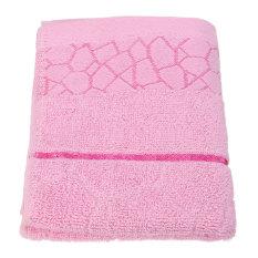 33*73cm Cotton Towel Face Cloth Hand Bath Towel Light Pink - Intl