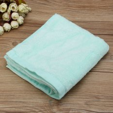 34x71cm Cotton Towel Face Cloth Hand Bath Towel Green - Intl