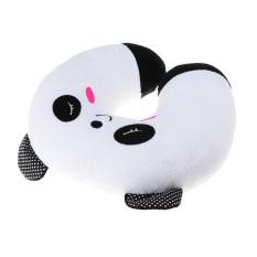 360WISH Cute Cartoon Panda Pattern Design Soft Plush U-shaped Neck Pillow Travel Car Home Rest Pillow (Intl)