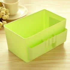 ... 360DSC kapasitas besar kotak penyimpanan kosmetik plastik meja kasus Oragnizer Hijau Internasional Termurah Kapasitas Tinggi Kotak