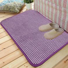 40*60cm Absorbent Memory Foam Bath Bathroom Floor Shower Mat Rug Non-slip Purple