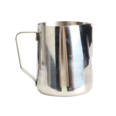 600ml Stainless Steel Kitchen Home Handle Coffee Garland Cup Latte Jug