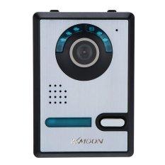 "7"" Video Door Phone TFT LCD Screen Unlock IR Night Vision Rainproof Home Security (Intl)"