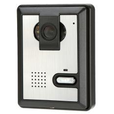 """7"""" Video Door Phone Visual Intercome Unlock Doorbell Rainproof Home Surveillance Security CCTV Camera (Intl)"""