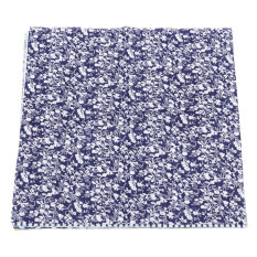 7x Square 25x25cm Assorted Pattern Floral Cotton Fabric Cloth DIY Crafts Sewing Navy - Intl
