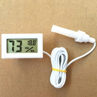 A Microdigital Lcd Thermometer Hygrometer Has A Humidity Temperature Of -50C To 70C And 10% Rh - intl