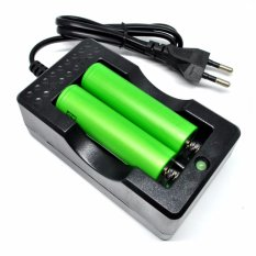 Adaptor Cell Charger Baterai 18650 - Dual Battery