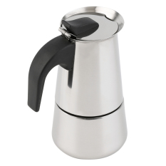 Allwin 2/4 / 6-Cup Percolator Stove Top Coffee Maker Moka Espresso Latte Stainless Pot Silver (Intl)