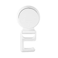 Allwin New Practical Kitchen Mop Holders Sunction Sucker Bathroom Door Towel Hanger White - Intl