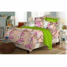 Alona Ellenov Akira Peach Bed Cover Set Uk 90 X 200 X 20 Cm