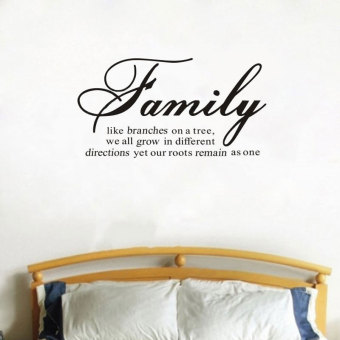Amart Fashion Wall Stickers Living Room Decal Home Decor