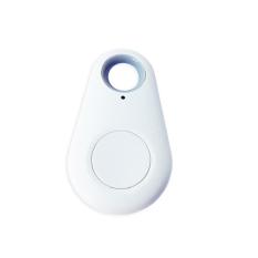 Anti Lost Pet Kids Key Finder Tracker Alarm Bluetooth Selfie Shutter White