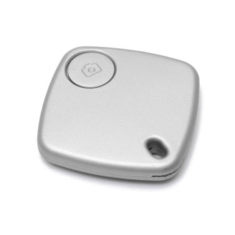 Autoleader Bluetooth Anti-lost Key Finder Camera Remote Quadrate Tracker Silver