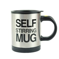 Automatic Self Steering Coffee Cup - Silver