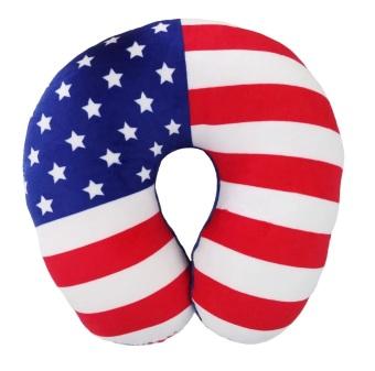 Bantal Mobil - Bantal Leher Bendera Amerika