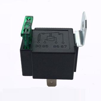 Baru 4 pin 12 V DC 40 Amp SPST tergabung di mobil truk sepeda Off otomatis