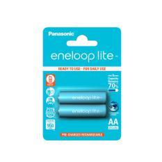 Baterai Panasonic Eneloop Lite AA 1000mAh Rechargeable Charge Battery Baterai Cas