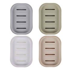 Bathroom Soap Dish Case Holder Container Soap Box Plate Storage Box (Intl)