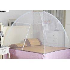 Best Kelambu Tempat Tidur 180 X 200Cm Anti Nyamuk Portable Bisa Utk Camping - Putih