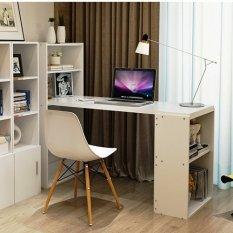 Best Meja Kerja & Belajar dan Rak Serbaguna Multifungsi - Putih