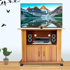 Best Rak TV Minimalis AVR56 uk 60x56 - Cokelat Tua